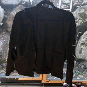 Crop Lightweight Black Lululemon Jacket
